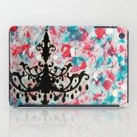 chandelier iPad Cases featuring Chandelier by Tina Floersch