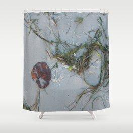 Natural Art Shower Curtain