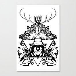 Paranoid King Canvas Print