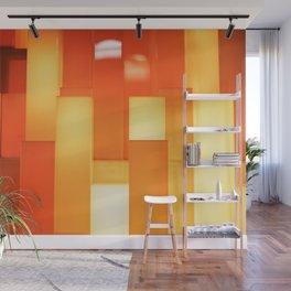 Shades of Orange Wall Mural