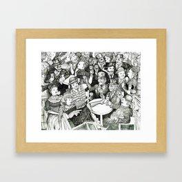 Mansion of Health Framed Art Print
