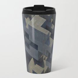 Abstract Concrete IV Travel Mug