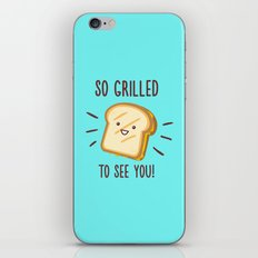 Cheesy Greetings! iPhone & iPod Skin