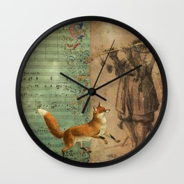 Fable Wall Clock