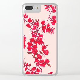 Bougainvillea casa Clear iPhone Case