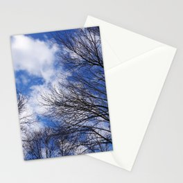 Reaching for the clouds Stationery Cards