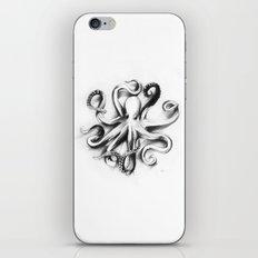 Flat Octopus iPhone & iPod Skin