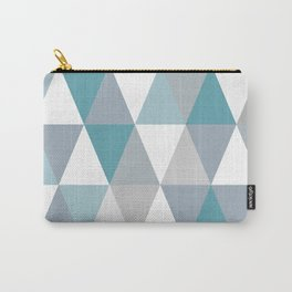 Rombi light blue Carry-All Pouch