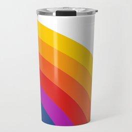 Retro Rainbow - Right Travel Mug