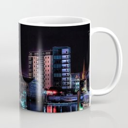Barbican Marina By Night Coffee Mug
