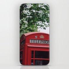 telephone boxes iPhone & iPod Skin