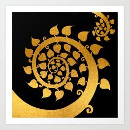 Bodhi Tree0609 Art Print