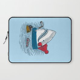 Great White North Shark Laptop Sleeve