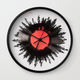 The vinyl of my life Wall Clock