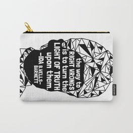 Ida B. Wells-Barnett - Black Lives Matter - Series - Black Voices Carry-All Pouch