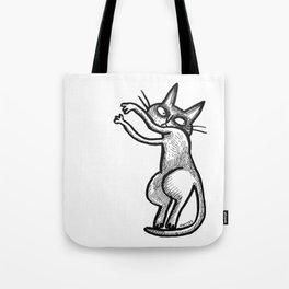 spellcaster kat Tote Bag