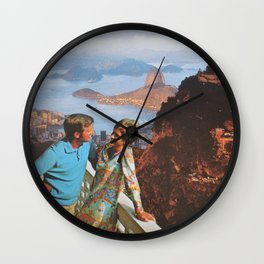 O Cristo Redentor Wall Clock