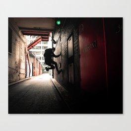 Midnight Crawler Canvas Print