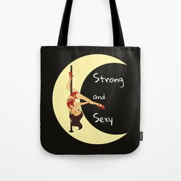 Pole Dance_dark Tote Bag