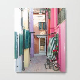 Beautiful Burano Metal Print