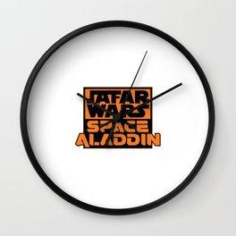 Jafar Wars Space Aladdin Wall Clock