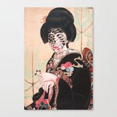 Geisha (2014) Canvas Print