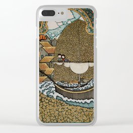 Taking on Water Clear iPhone Case