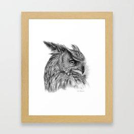 Eagle Owl G085 Framed Art Print