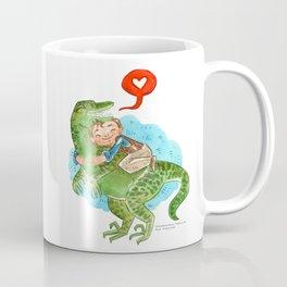 Jurassic World Hug Coffee Mug