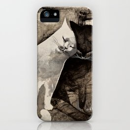 MORNING KISS by Raphaël Vavasseur iPhone Case