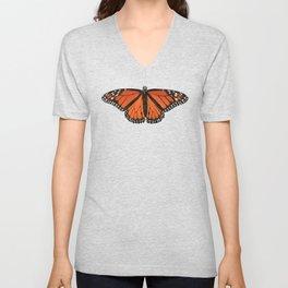 Monarch (Danaus plexippus) Unisex V-Neck