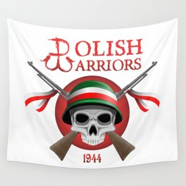 Polish Warriors Wall Tapestry