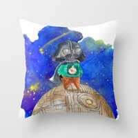 little prince Throw Pillows featuring Little Prince by gunberk