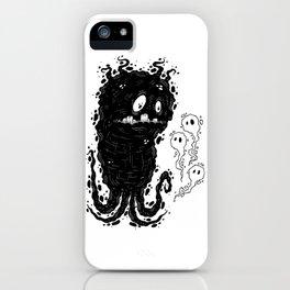 Ink Ghostie & The Light Spirit Trio iPhone Case
