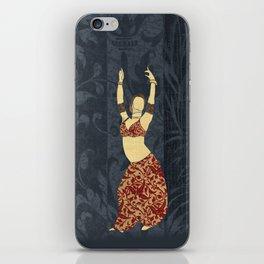 Belly dancer 17 iPhone Skin