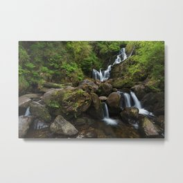 Torc Waterfall,Killarney Metal Print