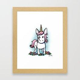 KiniArt Unicorn Framed Art Print