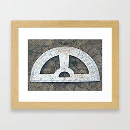 Protracted Dry Spell Framed Art Print