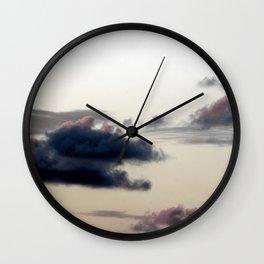 Cloudy Sky II Wall Clock