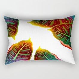 Sunlit Leaves Rectangular Pillow