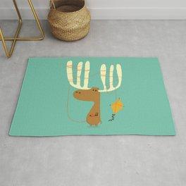 A moose ing Rug