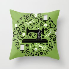 Sewing Essentials Throw Pillow