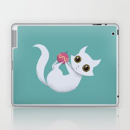 Mischievous kitty Laptop & iPad Skin