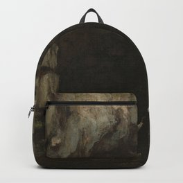 Gustave Courbet - La Grotte de la Loue Backpack