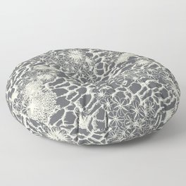 Rocky Foral Print Floor Pillow