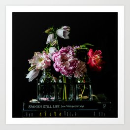 Garden Flower Still Life Art Print