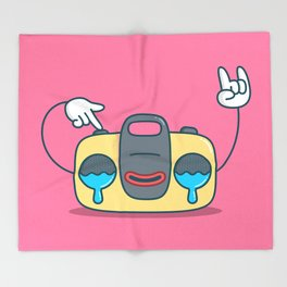 Nostalgic Stereo Throw Blanket