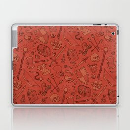 Inventory in Red Laptop & iPad Skin