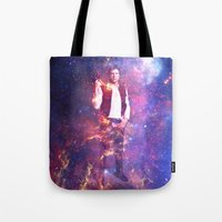 han solo Tote Bags featuring Han Solo by MaNia Creations
