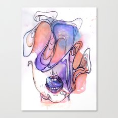 Dirty Thoughts Canvas Print